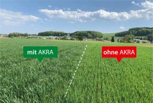 -Positive Auswirkungen mehrjähriger AKRA Kombi Anwendungen